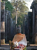 Buddha at the Bayon temple of Wat Phrom, Angkor Wat complex, Cambodia